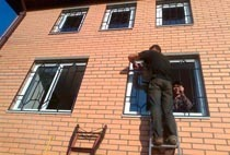 Монтаж решеток в Белгороде